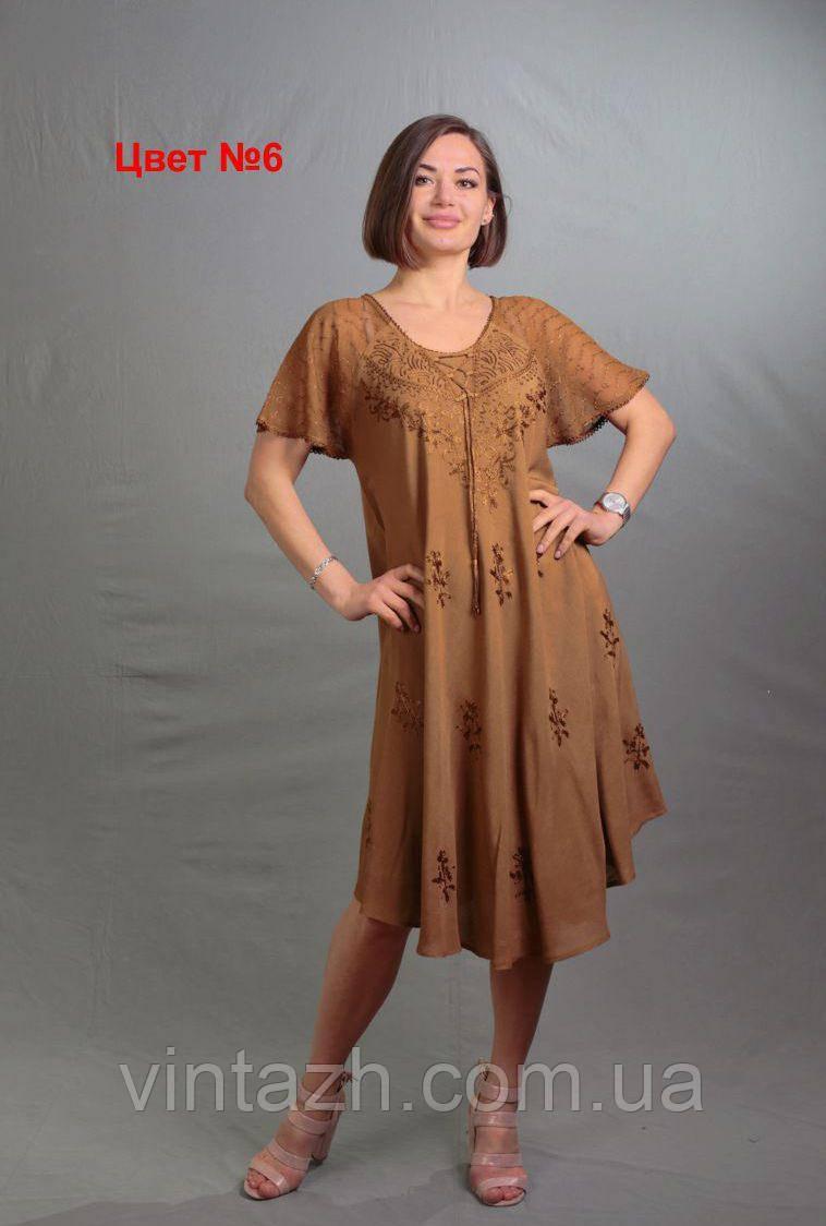 Красивое летнее женское платье  из батиста в Украине
