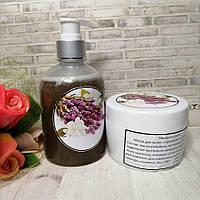 Набор шампунь и маска для волос ручной работы с крапивой и шалфеем