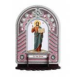 Набір для вишивки бісером з рамкою-киотом Нова Слобода ВК1005 Господь Ісус Христос, фото 2