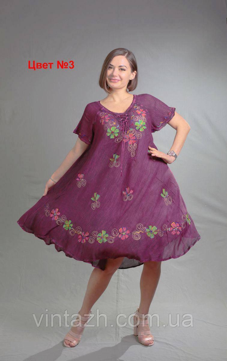 Летнее женское платье  из батиста в Украине недорого