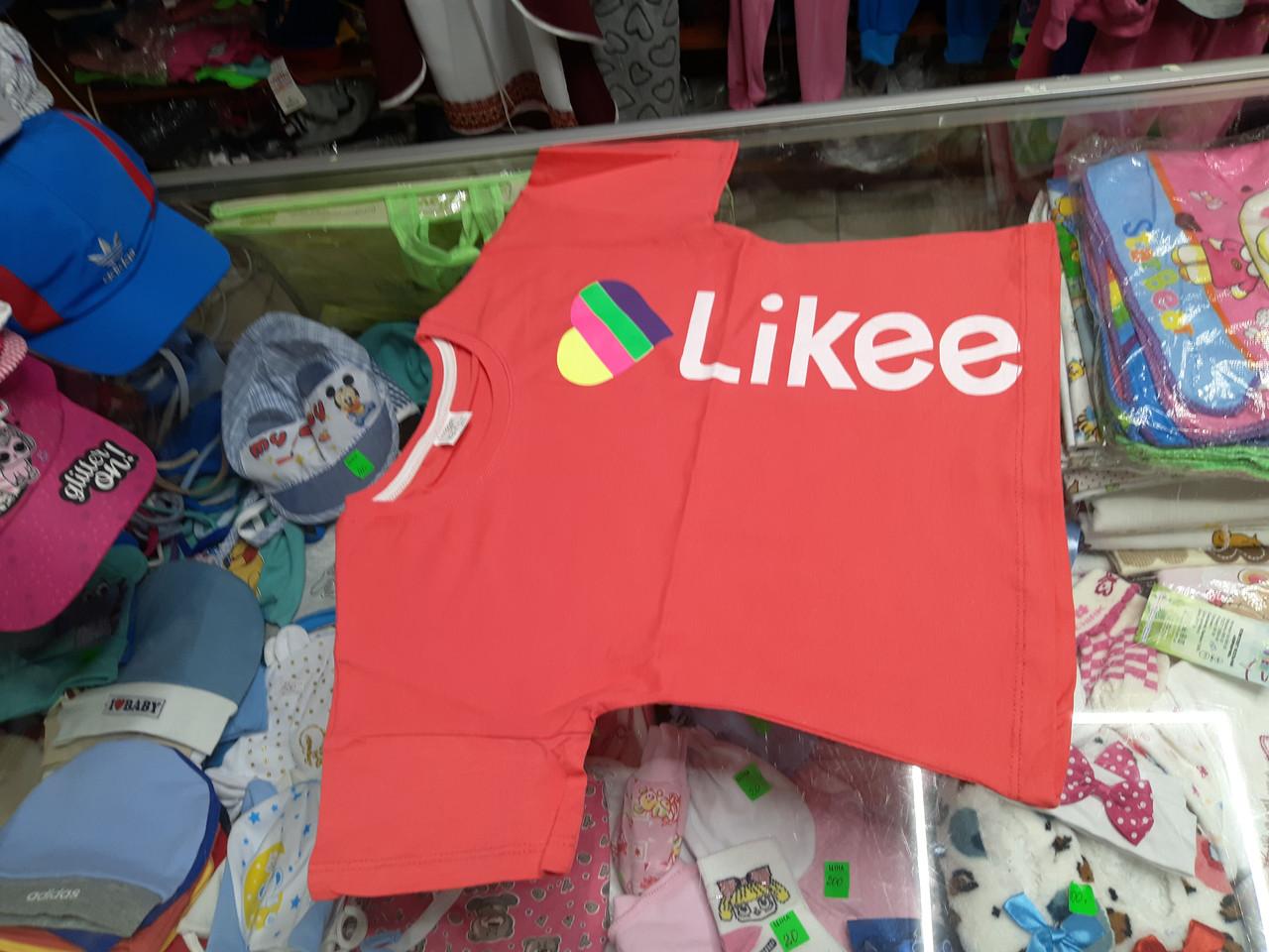 футболка топ для девочки likee р.128 - 152