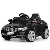 Электромобиль детский черный