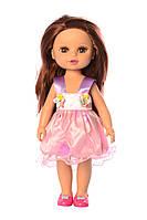 Детская кукла с длинными волосами для причесок в платье, высота 33 см