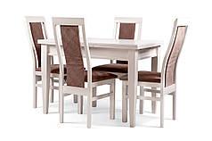Обеденный комплект/ стол SHAHAR + стулья WEST, белый