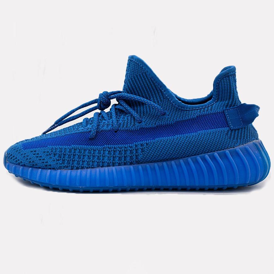 Кроссовки женские Adidas Yeezy Boost 350 V2 Blu