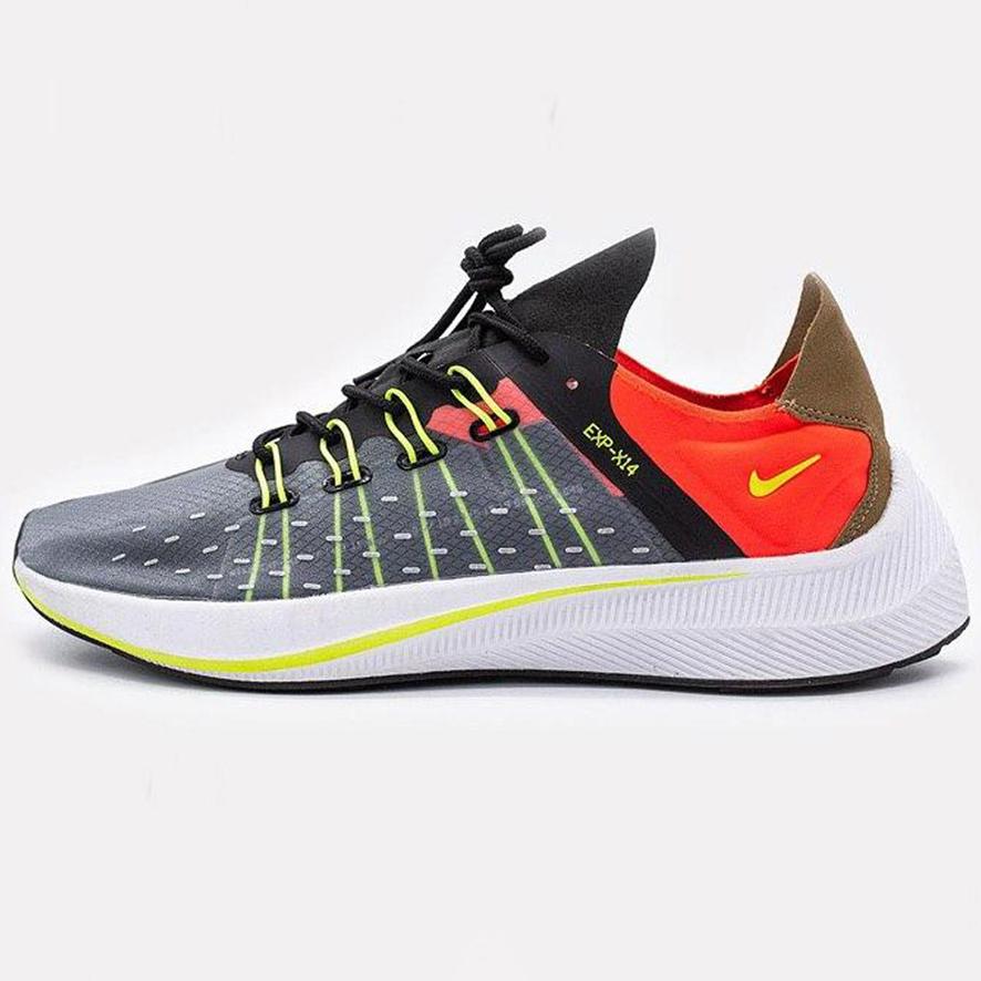 Кроссовки женские Nike EXP-X14 Black Volt Total Crimson