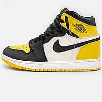 Кроссовки женские Jordan 1 Retro High Yellow Ochre