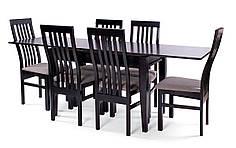 Обеденный комплект/ стол SHAHAR  + стулья MODERN венге
