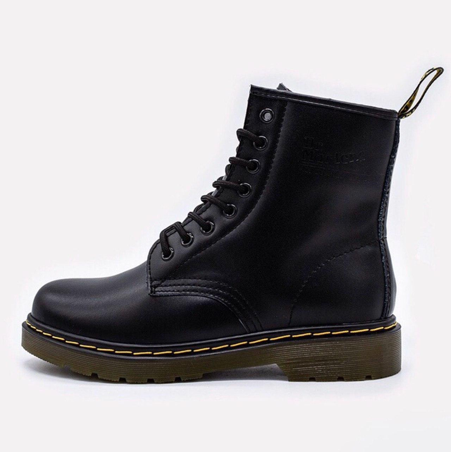 Dr. Martens 1460 Greasy Black