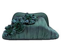 Клатч вечерний атласный бирюзовый Bulaggi (Голландия) 32131.44