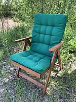Матрас на кресло Кедр на Ливане Уют большой серия Color Big 100x50x7 Зеленый