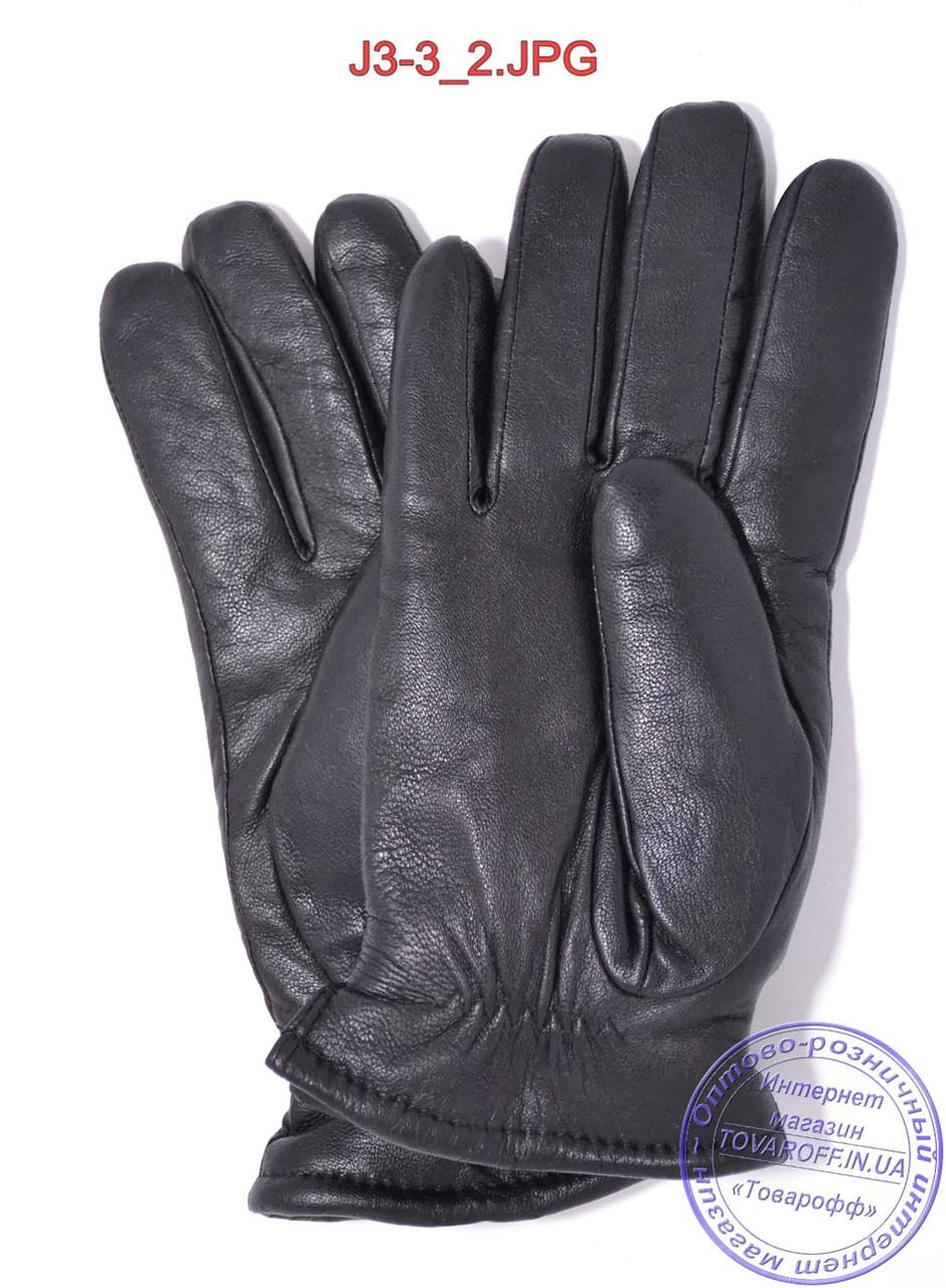 53e0c264513a Оптом подростковые кожаные перчатки с махровой подкладкой - №J3-3, ...