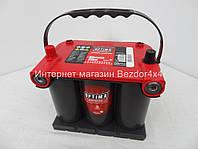 Гелевый аккумулятор Оптима 44 Ач 730 А красный