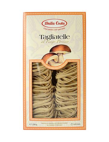 Макарони DALLA COSTA Tagliatelle з грибами 250 г, фото 2