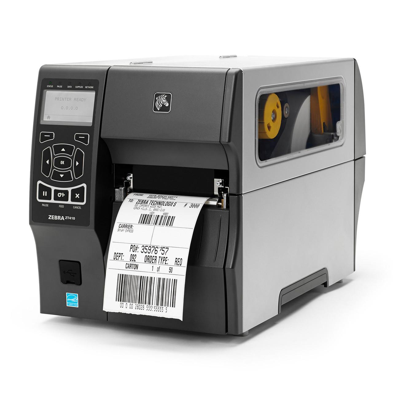 Промышленный принтер этикеток Zebra ZT 410