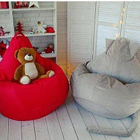 Кресло-груша (мешок) XXL 140х110. Разные размеры, цвета.