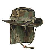 Панама брит. спецназа с защитой шеи woodland