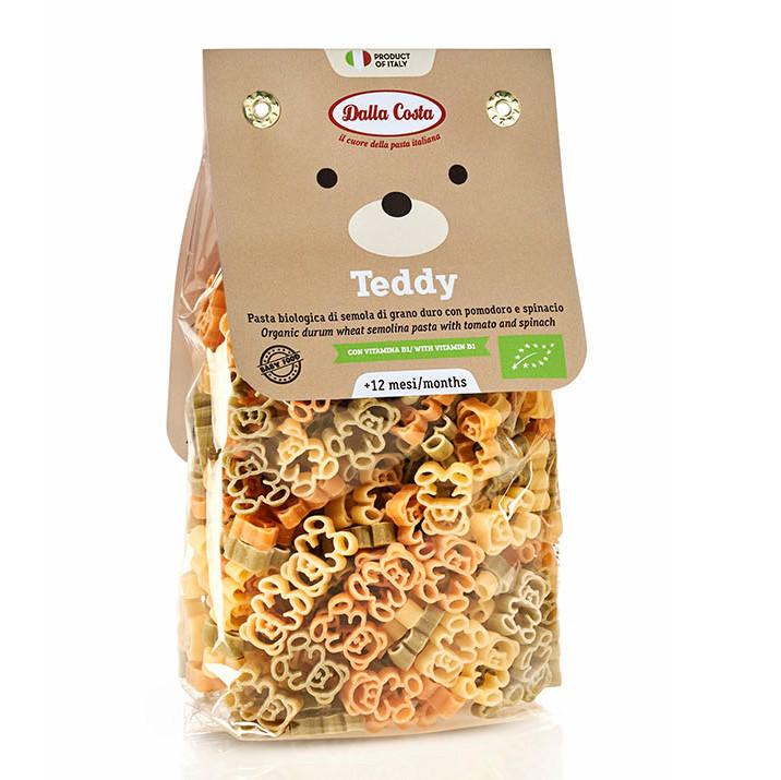 Макарони DALLA COSTA BIO Baby Teddy tricolor 200 г