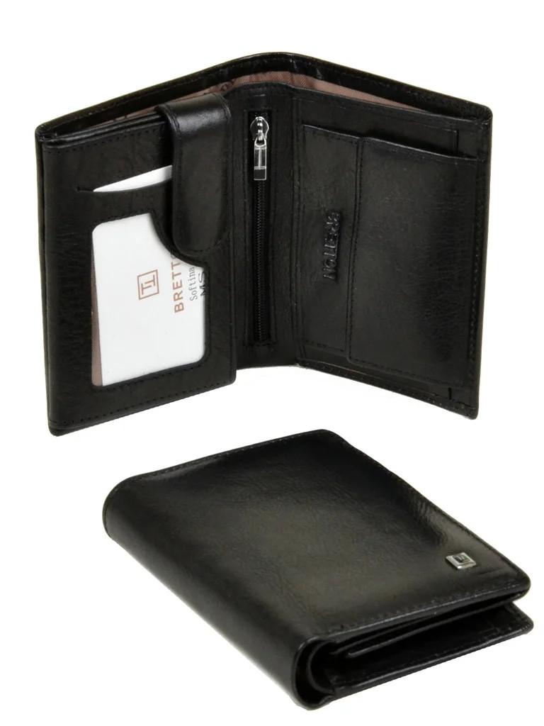 Шкіряний чоловічий гаманець / Кожаный мужской кошелек Bretton
