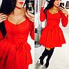 Женское красивое платье с глубоким декольте (2 цвета)