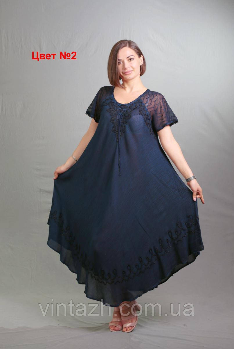 Женское летнее платье  размера 58-64  в Украине