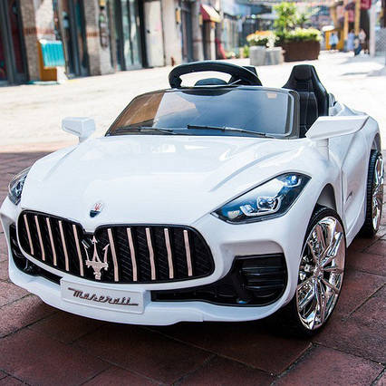 Детский электромобиль Maserati T-7651 Белый