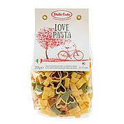 Макарони DALLA COSTA Love pasta tricolor з томатом і шпинатом 250 г