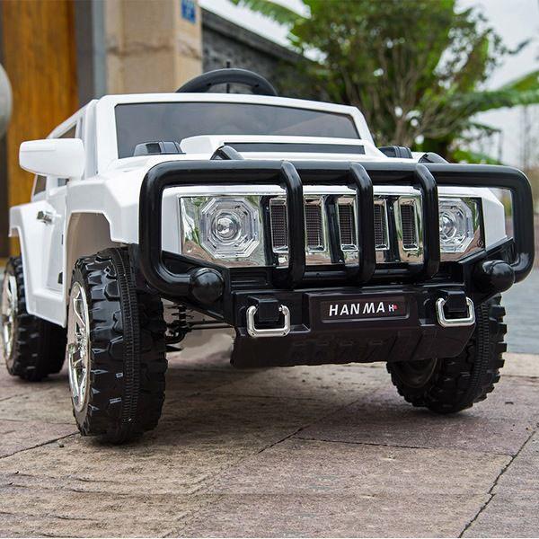Детский электромобиль джип Hummer T-7836 Белый