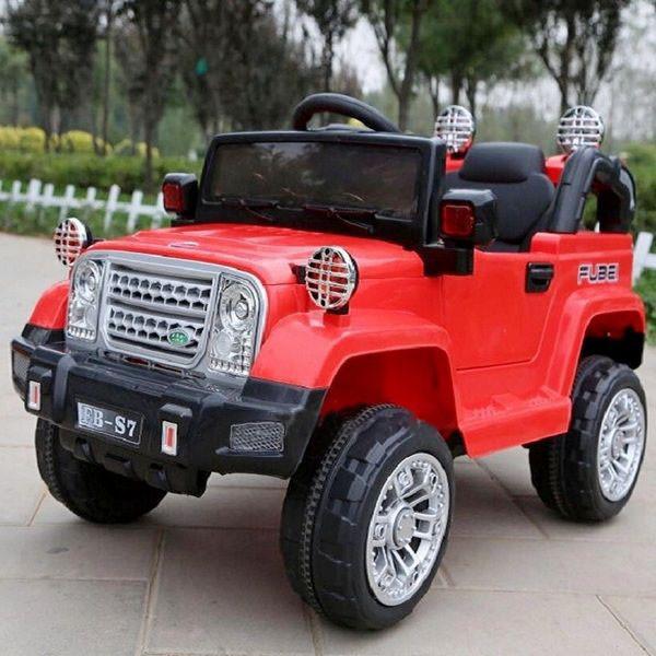Детский электромобиль Jeep джип T-7838 Красный