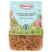 Макарони DALLA COSTA BIO Farm з коричневим рисом, без глютену 250 г