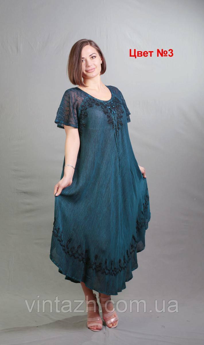 Женское  повседневное летнее платье  размера 58-64  в Украине