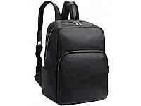 Городской рюкзак А4 мужской компактный кэжуал для ноутбука 13 натуральная кожа недорого