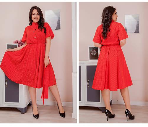 Сукня сорочка великий розмір, фото 2