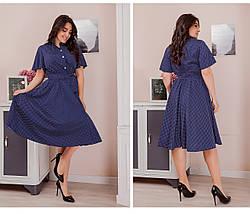 Сукня сорочка великий розмір, фото 3