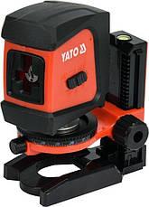 Нівелір лазерний стяжка YATO YT-30425, фото 2