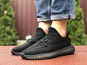 Модные мужские кроссовки Adidas x Yeezy Boost,черные, фото 3