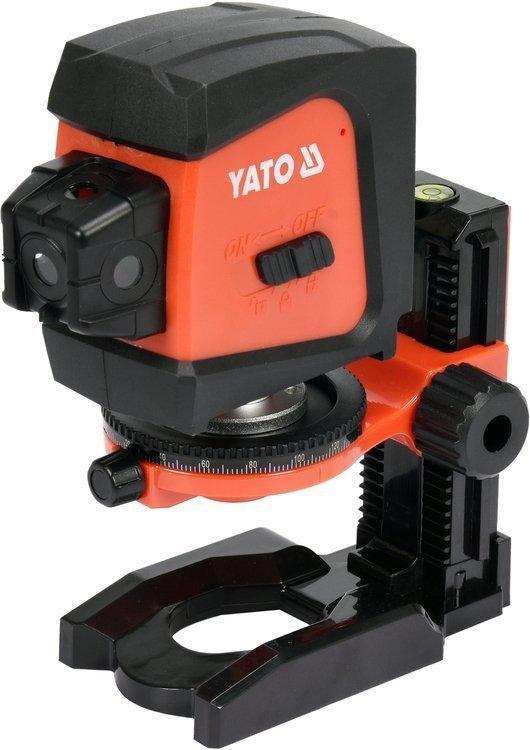 Нивелир лазерный линейно-точечный самовыравнивающийся YATO YT-30427