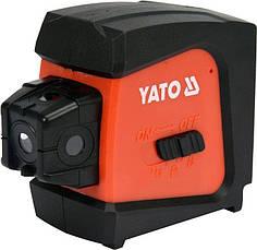 Нивелир лазерный линейно-точечный самовыравнивающийся YATO YT-30427, фото 3