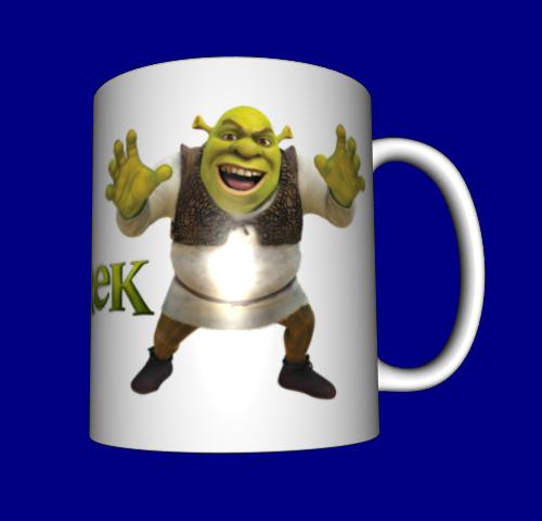 Кружка / чашка Шрек
