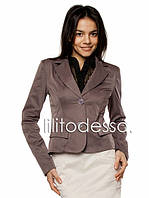 Короткий пиджак серый до 50р, фото 1
