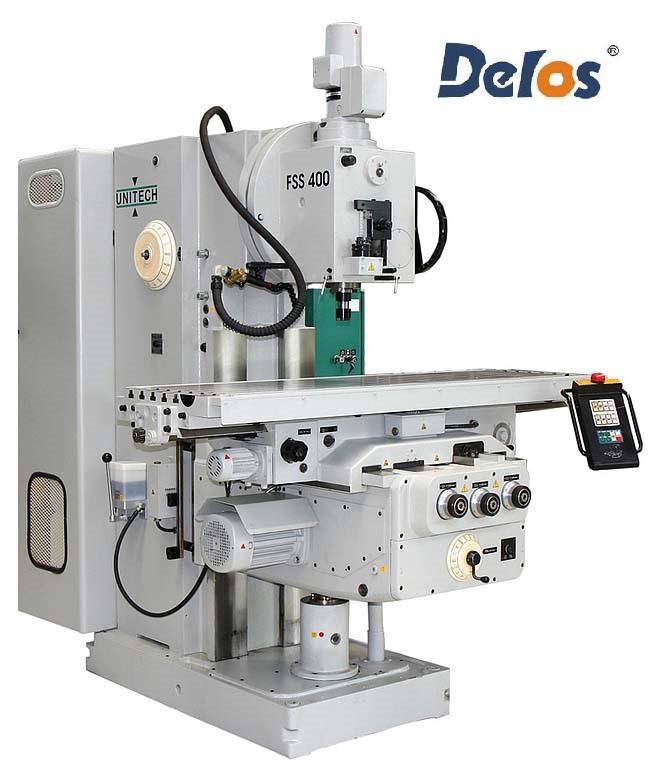 FSS-400 консольно-фрезерний верстат комплект УЦИ DS60-3V і лінійок 5 мкм