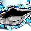 Сумка летняя текстильная для пляжа и прогулок, фото 2
