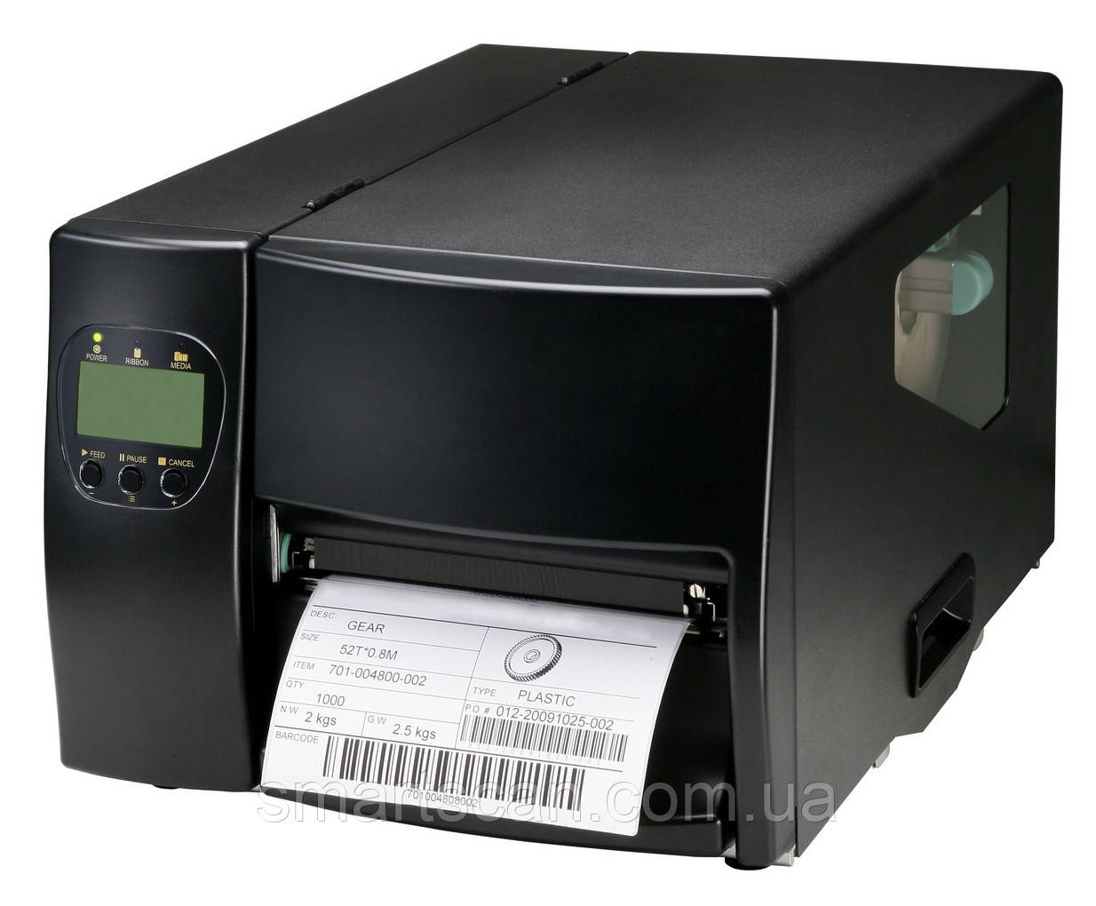 Полупромышленный принтер этикеток GoDEX EZ-6200 Plus