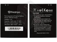 Батарея (акб, аккумулятор) Prestigio MultiPhone 3501 Duo / PAP3501, 2500 mAh, оригинал