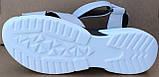 Босоножки на липучках кожаные от производителя модель СФ457, фото 3