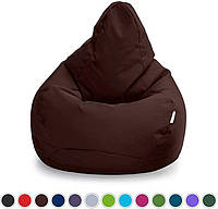 Бескаркасный пуфик, кресло мешок, груша, XL 130х90. Разные размеры, цвета.