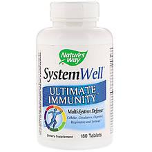 """Средство для укрепления иммунитета Nature's Way """"System Well Ultimate Immunity"""" (180 таблеток)"""