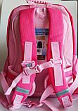 Рюкзак школьный ортопедический Dr. Kong, Princess, розовый,  размер S, фото 4