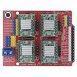 Плата розширення, CNC Shield 3.0, шилд для 3D-принтера, лазерного гравера, верстата з ЧПУ, фото 3
