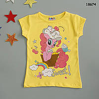 Футболка Pony для девочки. 86-92;  98-104 см, фото 1